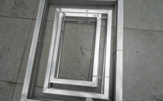 Silk Screen Pre Stretched Aluminum Printing Frames, Silk Screen