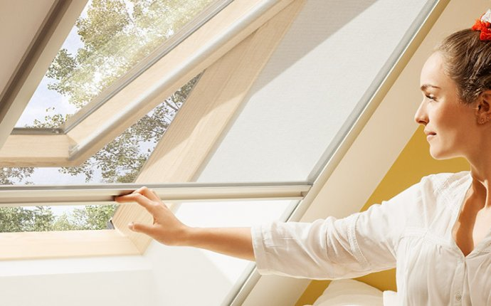 VELUX insect screens - enjoy fresh air without any insects