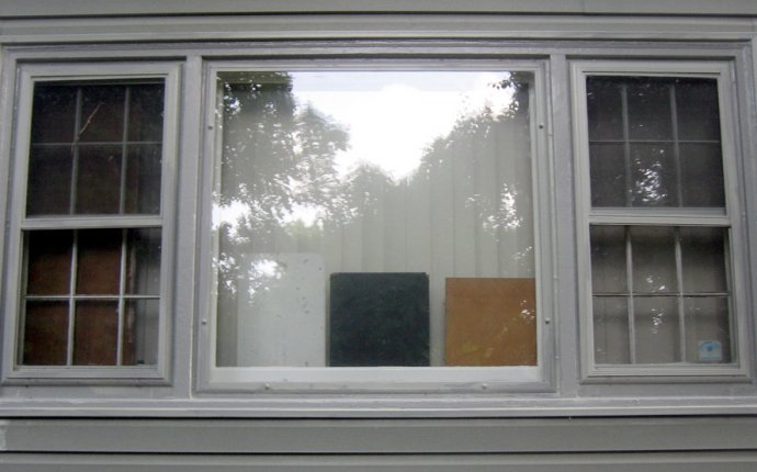 Window, main room - 1 - painted - bad Home Depot color mat… | Flickr